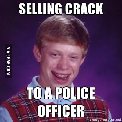 Illegal selling