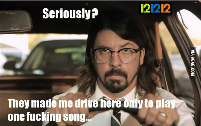 Poor Dave Grohl