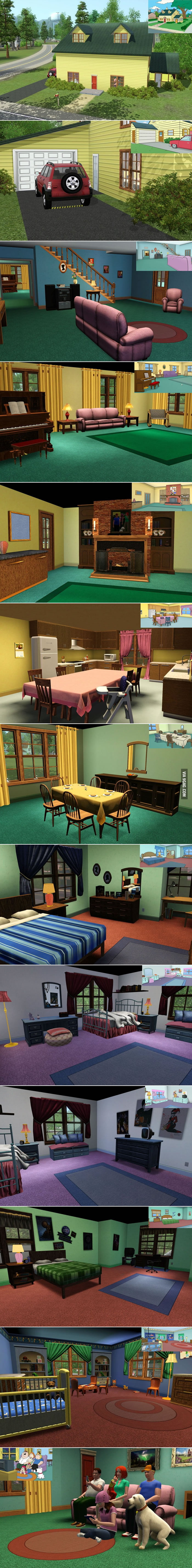 Family Guy x The Sims