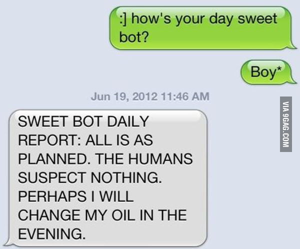 Sweet Bot daily report!