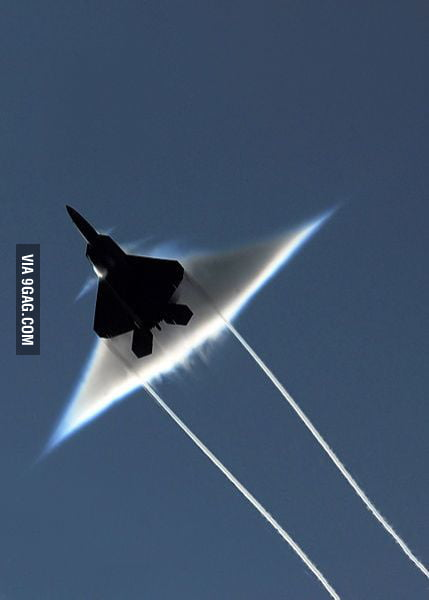 Plane Breaking The Sound Barrier