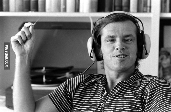 Jack Nicholson in 1969.