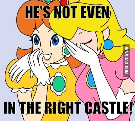 Poor Mario!