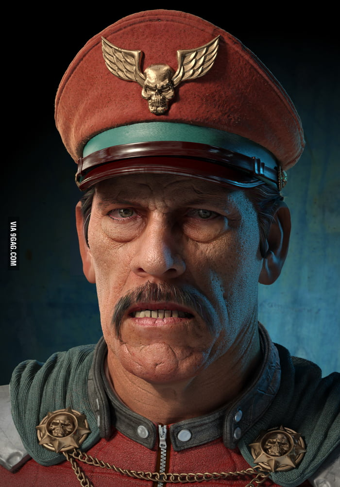 Realistic M. Bison