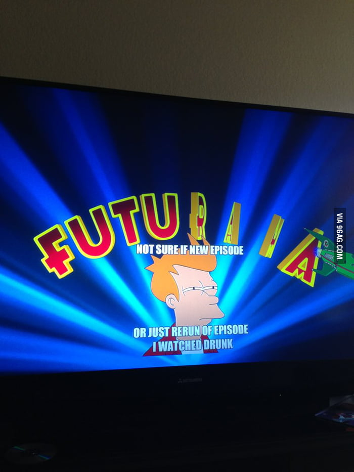 Just bought new blu ray of Futurama... Starting off well