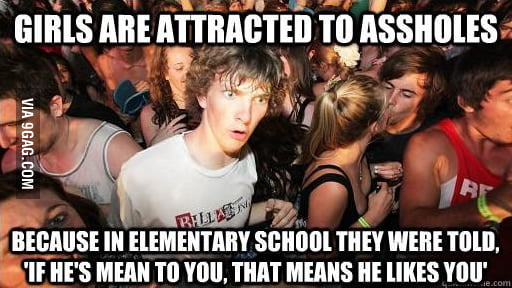 I realized this today - it all makes sense now!
