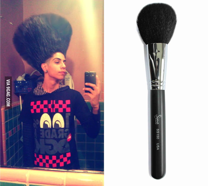 They said I could be anything, so I become a brush.