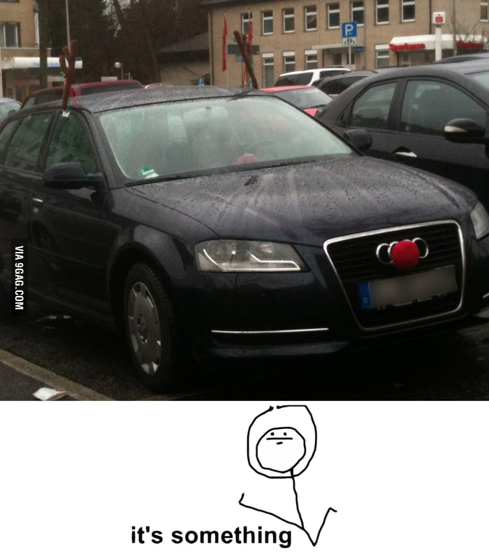 Christmas car decoration lvl: German