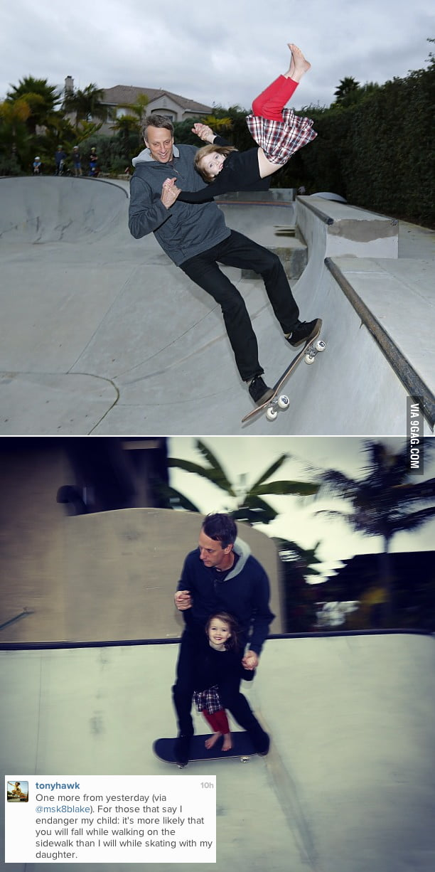 Tony Hawk just burned the F**K out of the haters.