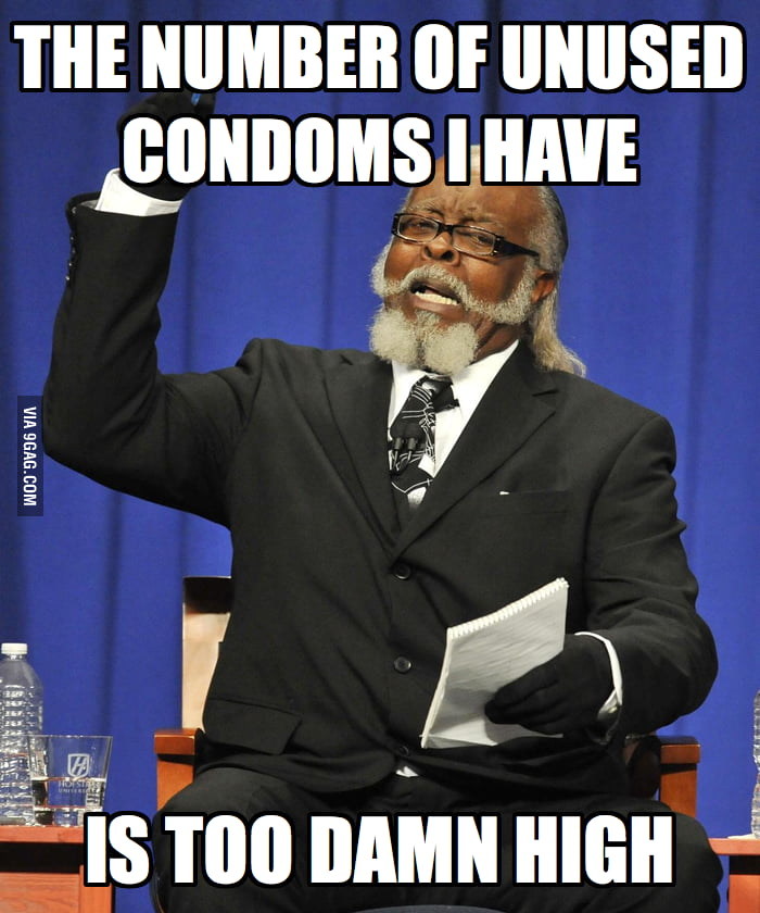 As a college student, I have way too many unused condoms.