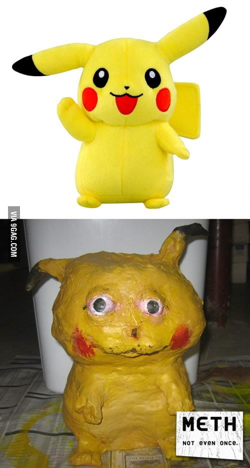 Effects of Meth on Pikachu.