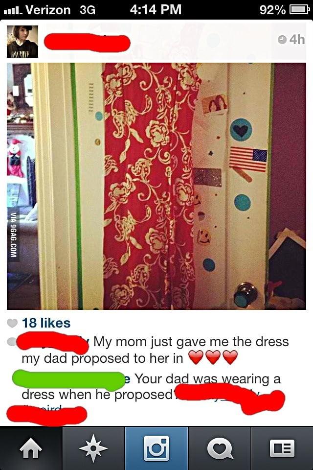 Proposal Dress