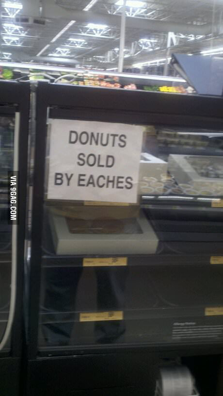 I'll take 3 eaches please.