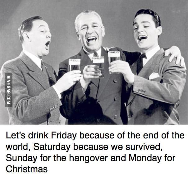 Weekend full of excuses ahead!