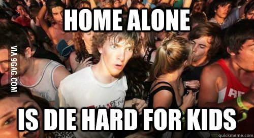 Sudden Clarity Clarence on Home Alone