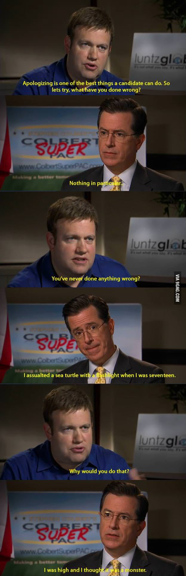 Just Stephen Colbert