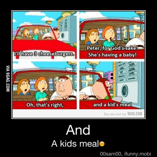 And a kid's meal