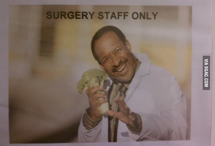 My local hospital has a sense of humor.