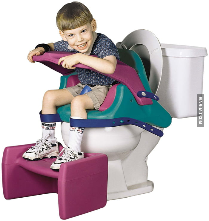 Can someone explain why this kid is pooping with pants?