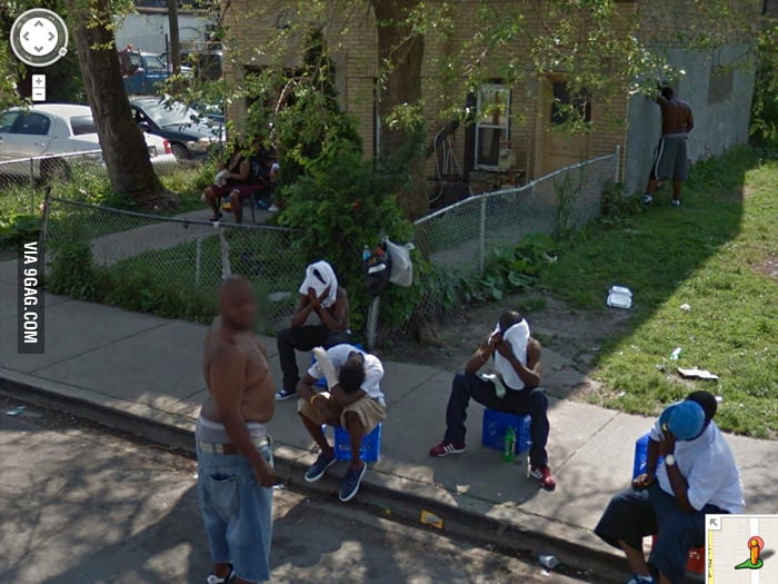 A Google camera can help you safely drive through the hood.