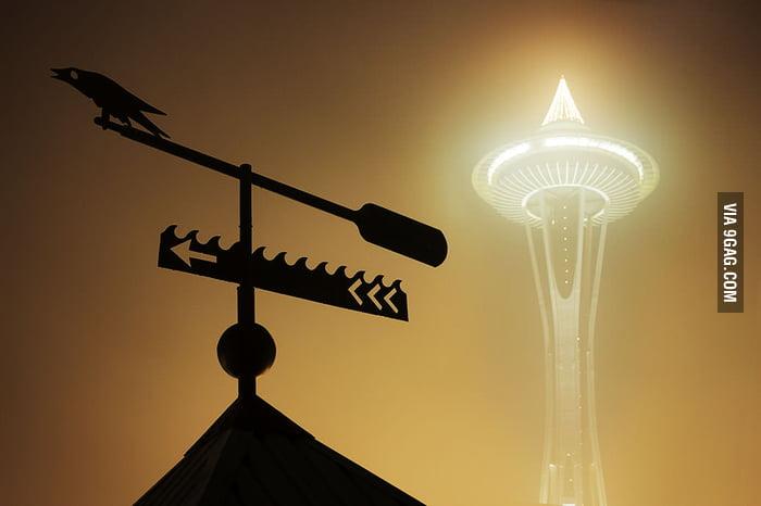 4am, Seattle.