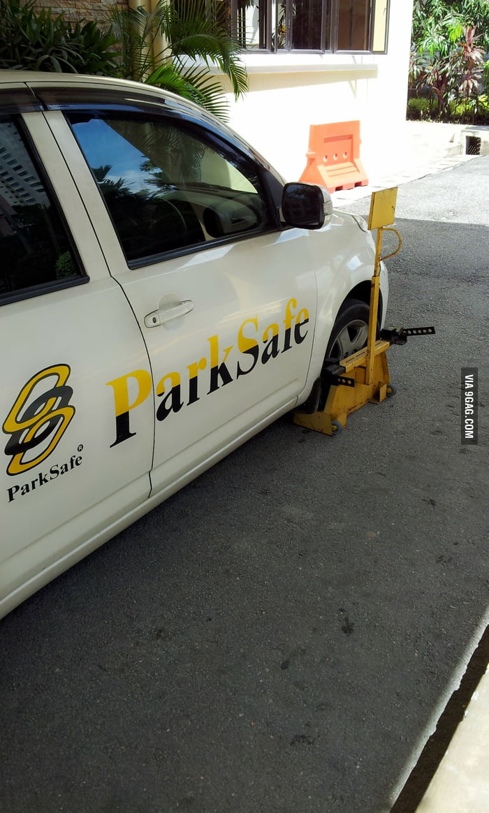 Teaching you how to park safe