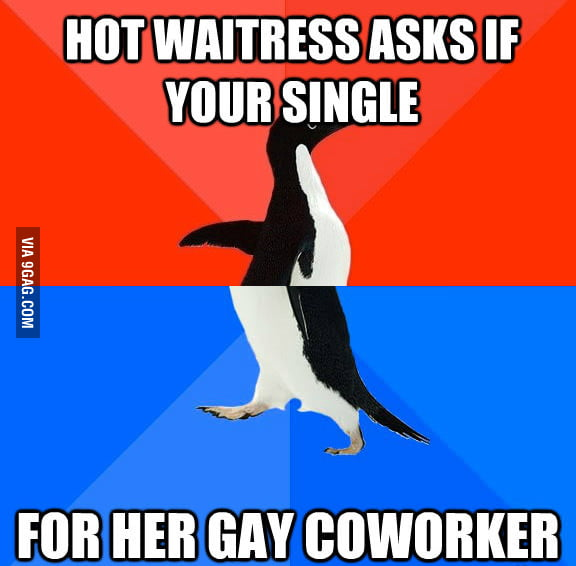 Being newly single, I was excited.