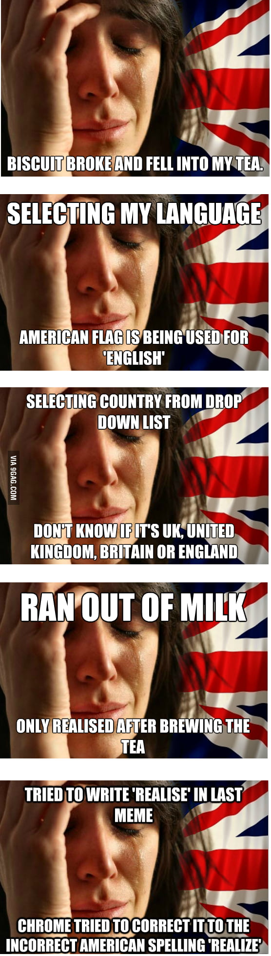 British First World Problems