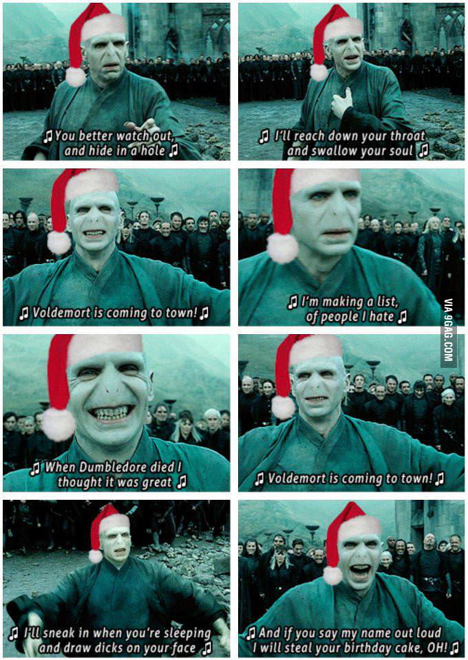 Just a Voldy Christmas Song