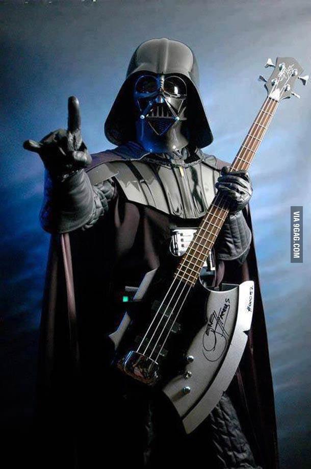 Vader Slappin The Bass