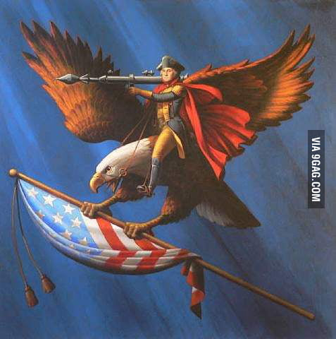 "Yeah, so I googled ""Most american picture on the internet."""