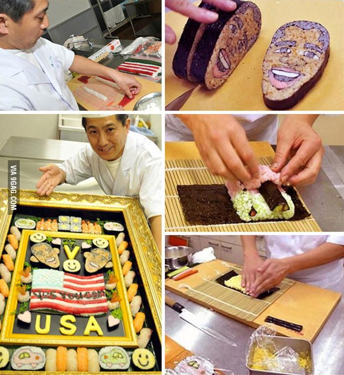 Sushi Obama