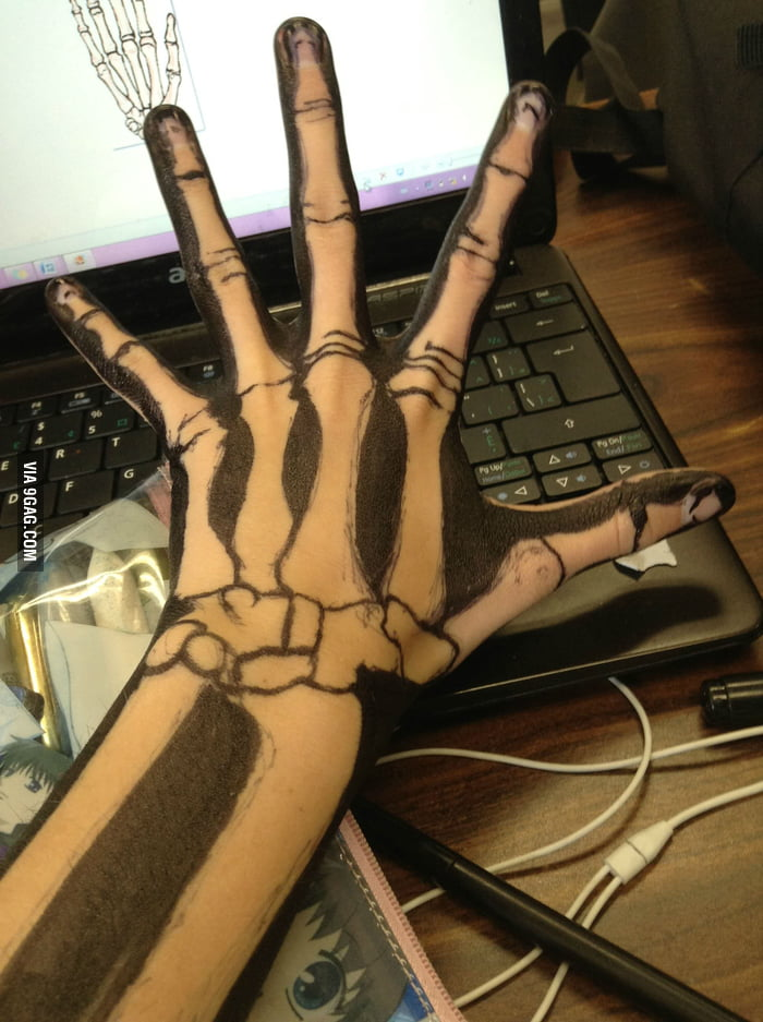Awesome hand drawing!