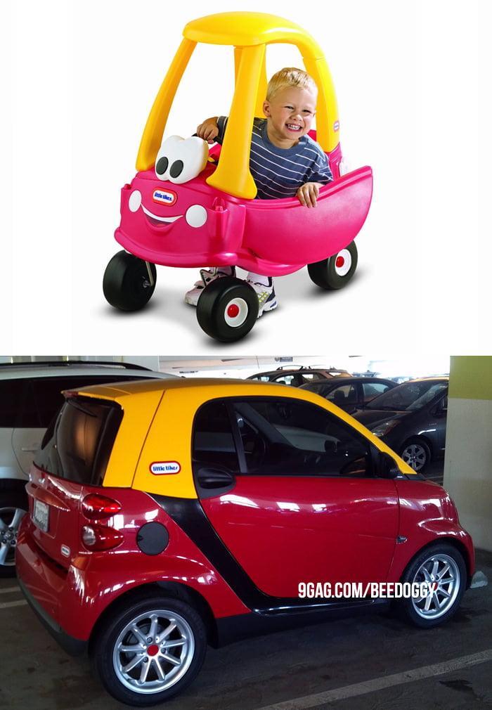Smart Car allows you to live your childhood memories.