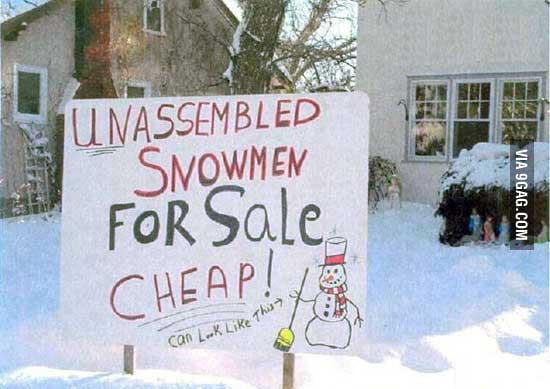 It's cheap!