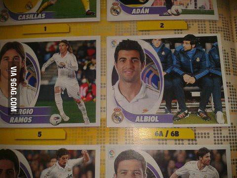 Albiol... best photo ever... on the bench