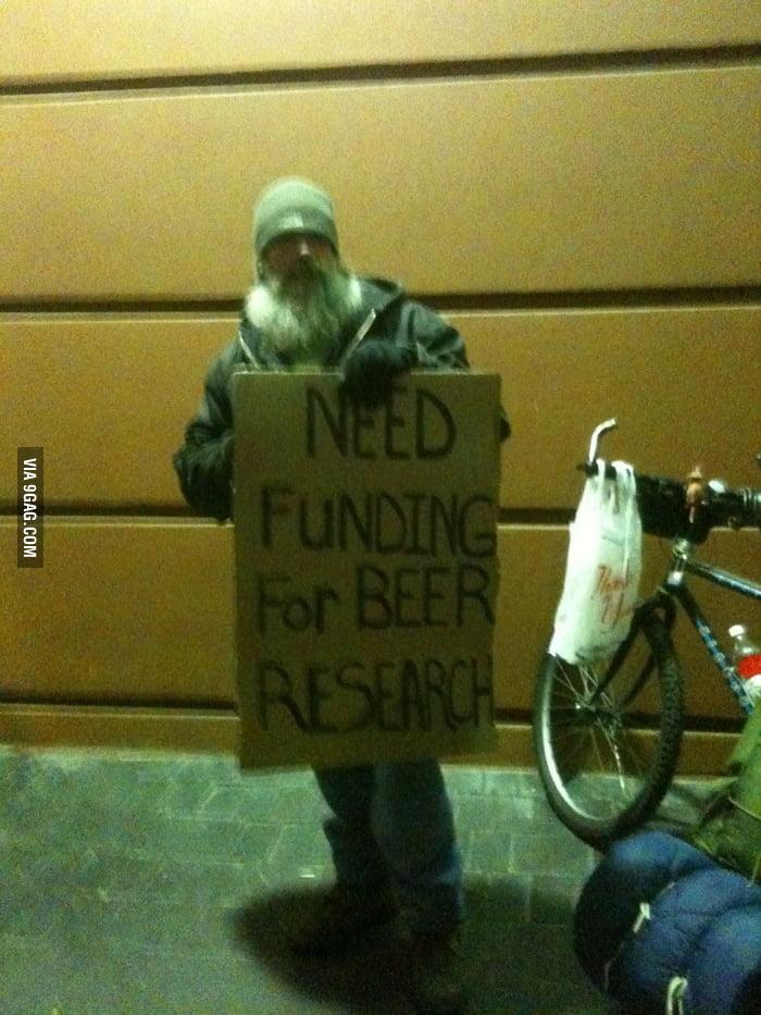 He needs funding