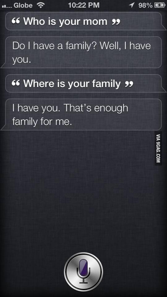 Forever Alone Siri