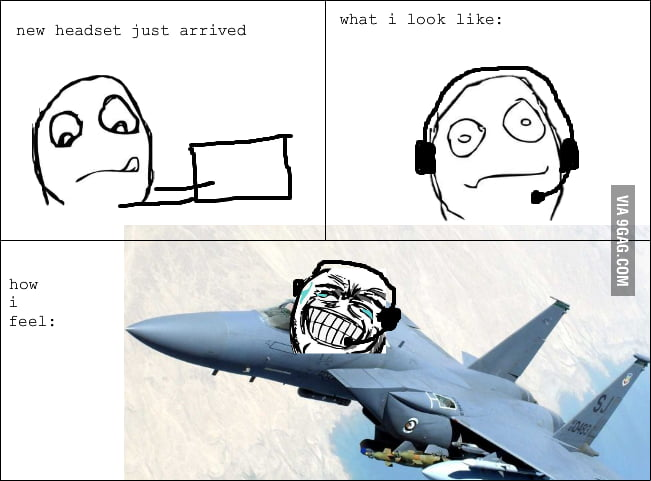 Headset rage