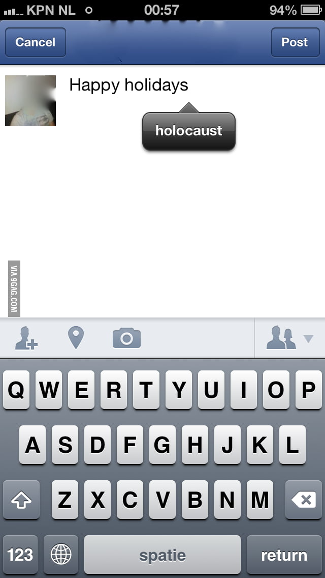Happy holocaust.