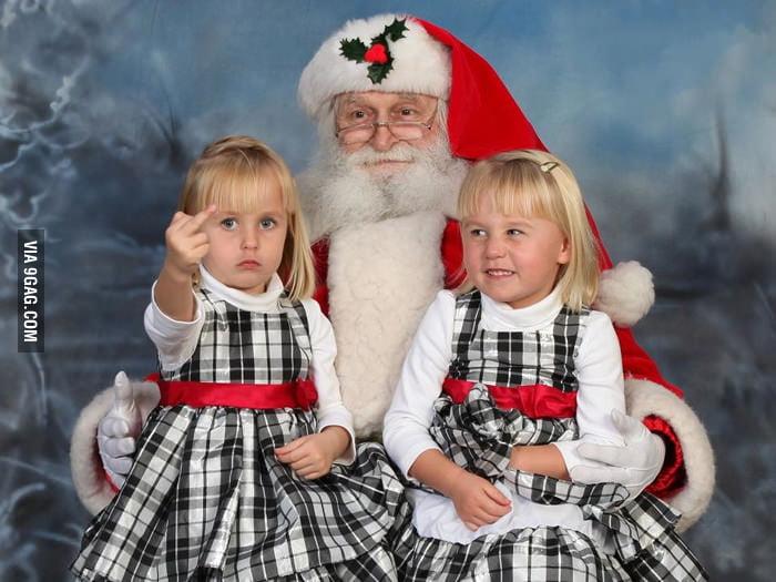 """""""F**k you, Santa."""""""