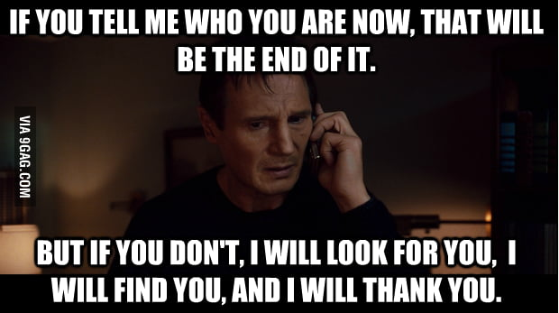 A message to my secret Santa.