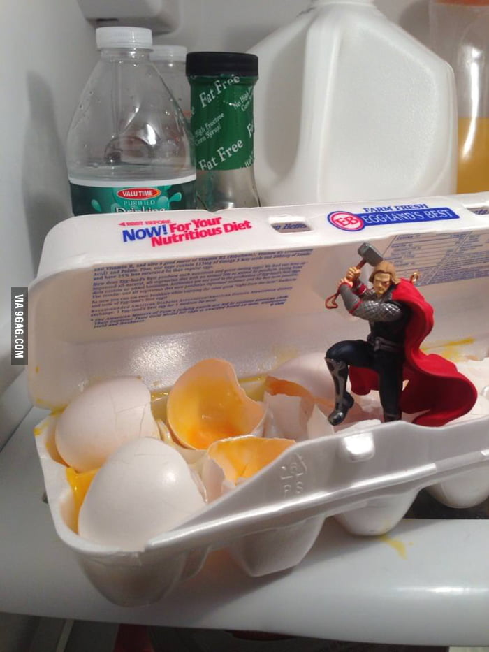 Thor, you a**hole!