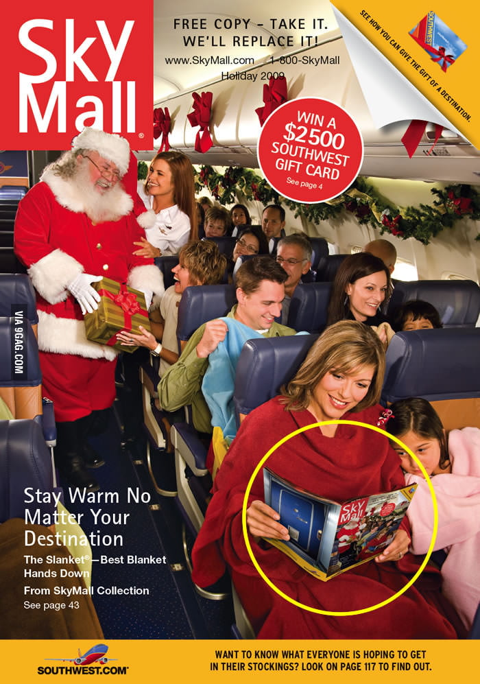 Sky Mall, can you explain that?