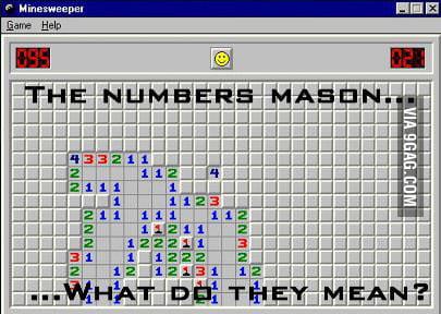 Minesweeper...