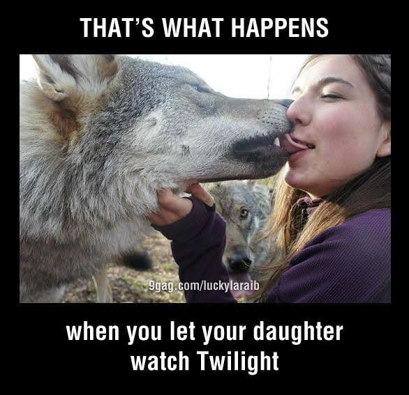 Keep your daughter away from Twilight