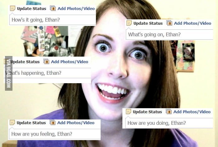Facebook's new status update prompts are pretty creepy.