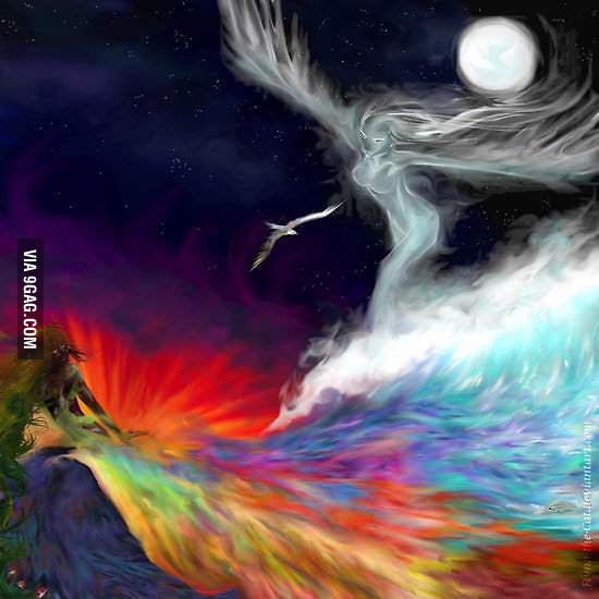 What I think imagination looks like.
