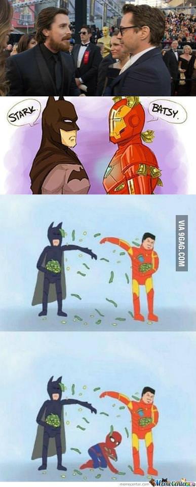 Poor Spidey....