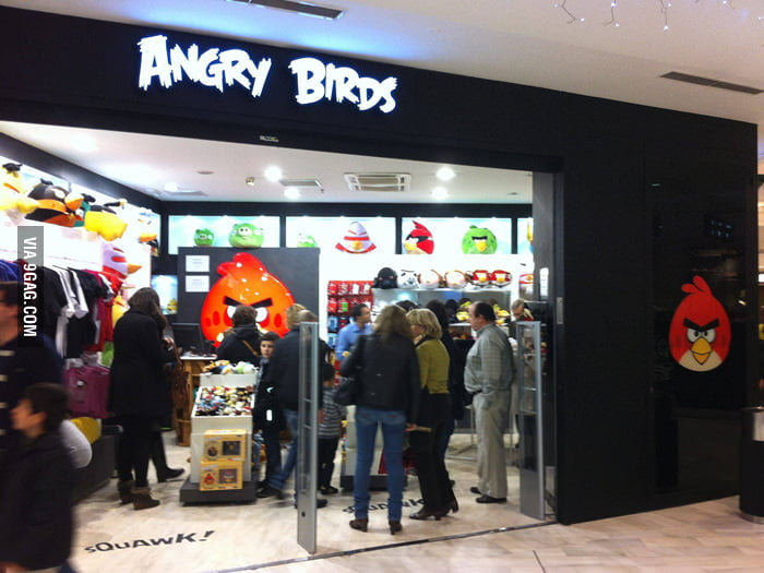 Angry Birds Store!
